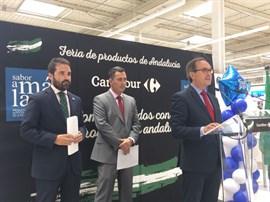 Cien productos andaluces de la campaña 'Sabores de Andalucía' llegan a 22 centros de distribución Makro de toda España