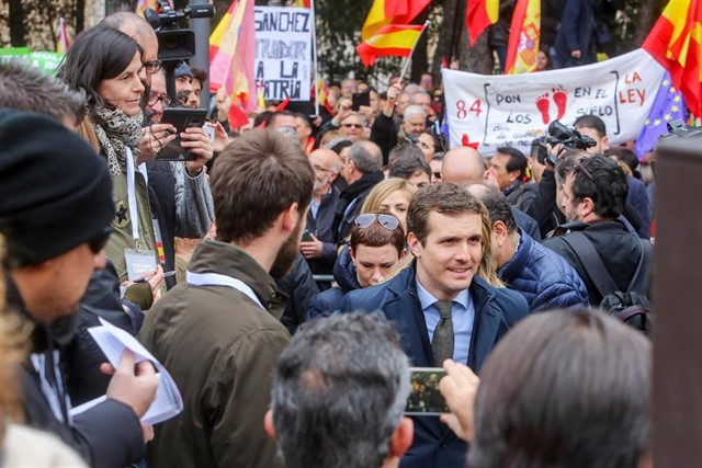 Así te hemos contado la manifestación contra Sánchez en Madrid